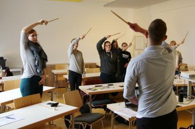Foto zur Meldung: Vom Lernenden zum Lehrenden
