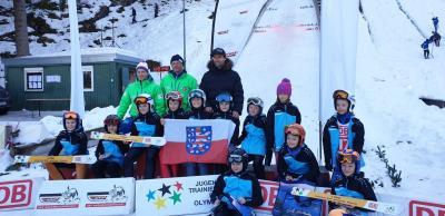 Team Beerberg und Inselsberg mit Sven hannawald