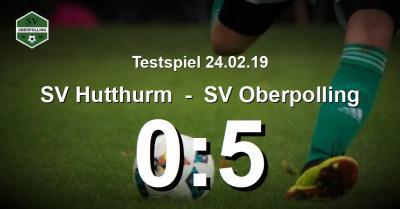 Foto zur Meldung: Oberpolling siegt verdient im Testspiel gegen SV Hutthurm