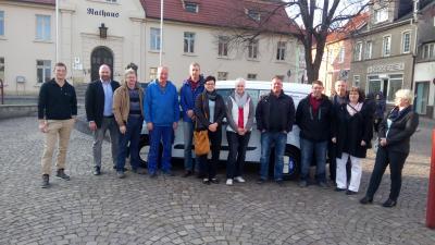 Foto zu Meldung: Neues Fahrzeug komplettiert Fuhrpark der Stadt Nienburg Saale)