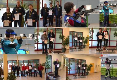Foto zur Meldung: Wittenberger Schützen bei Landesmeisterschaften in Halberstadt auf Siegerpodest