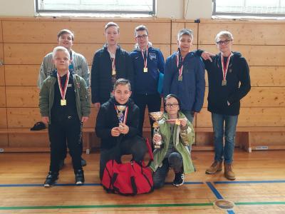 Vorschaubild zur Meldung: Jugend trainiert für Paralympics Tischtennis - WIR SIND LANDESMEISTER