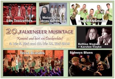 """""""Kommt und hört ein Dankeschön - 20 Jahre Falkenseer Musiktage"""""""