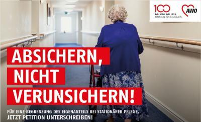 Petition: Eigenanteil für stationäre Pflege begrenzen!