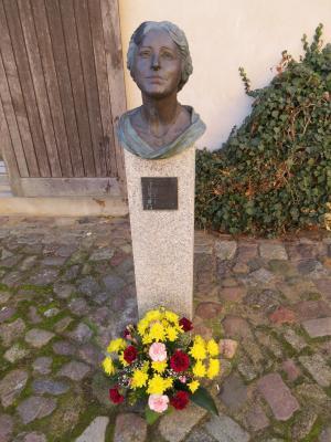 Büste Lotte Lehmann/ Stadt Perleberg