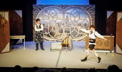Foto zur Meldung: Hitzewelle zu Frühlingsbeginn im Theater Zielitz