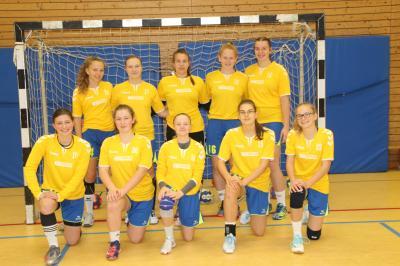 Foto zur Meldung: Handball JSG Buchberg weibl. B-Jugend 30:22 Erfolg bei TG Kastel