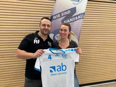 Foto zur Meldung: Herzlich Willkommen im Team der 1. Frauen - Nicola Stach