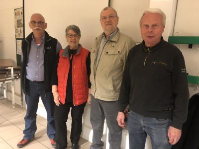 Der neue Seniorenbeirat der Gemeinde Oering