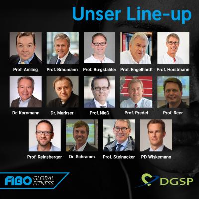 DGSP-Line-Up für den FIBO CAMPUS