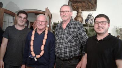 Martin Gmelch, Hans Bruckmüller, Norbert Söldner und Konrad Helmberger