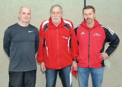 v.l.n.r.:Mario Ludwik, Klaus Schlenczek und Rainer Behrens (Foto: B. Janssen)