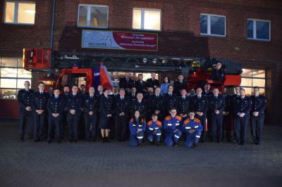 Foto zur Meldung: Jahreshauptversammlung der Freiwilligen Feuerwehr Perleberg