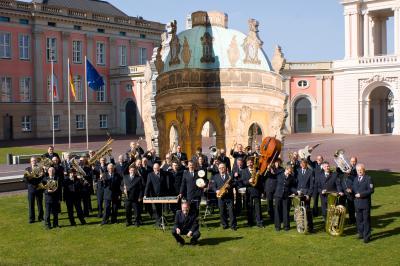 Foto zur Meldung: Benefizkonzert des Brandenburgischen Landespolizeiorchesters