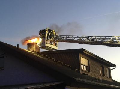 Vorschaubild zur Meldung: Einsatz Nr. 16 - Kaminbrand