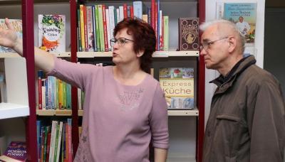 Foto zur Meldung: Stadtbibliothek Calau empfängt wieder Gäste