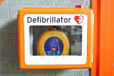 Vorschaubild zur Meldung: Defibrillation-Training-Ausbildung