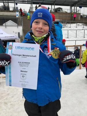Foto zur Meldung: Thüringer Langlaufmeisterschaften