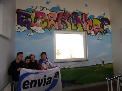 Foto zur Meldung: Ein großes Dankeschön an EnviaM