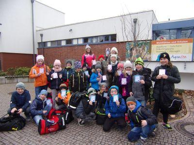 Foto zur Meldung: Schwimmunterricht unserer Drittklässler in Torgau