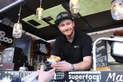 Jack's Tasty zu Gast in der Berg- und Hänselstadt Sontra im Mai 2018.