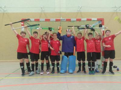 Foto zur Meldung: Die dritte KB-Mannschaft ist Staffelsieger und Endrundenteilnehmer!