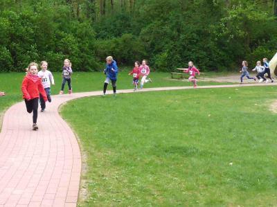 Foto zur Meldung: KITA-Lauf gehört zum Laager Volkssporttag