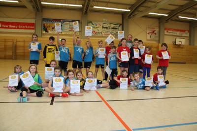 Foto zur Meldung: Handballturnier Nachwuchs