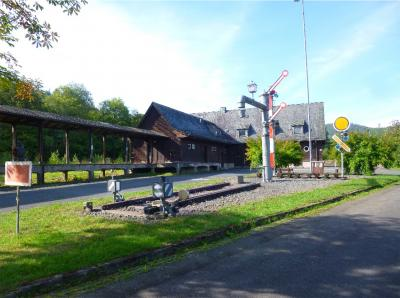 Bahnhof Wildflecken/ Foto: privat