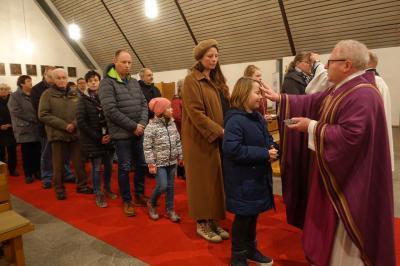 Foto zur Meldung: Die Fastenzeit hat in unserer Pfarrgemeinde begonnen