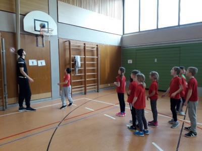 Foto zur Meldung: Basketballtag