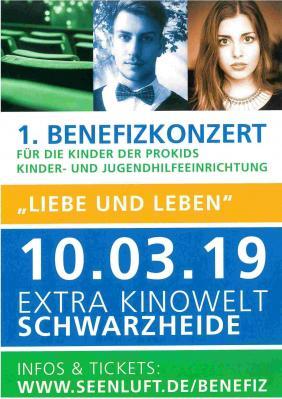 Benefizkonzert für Jugendhilfeeinrichtung ProKids am 10.03.2019