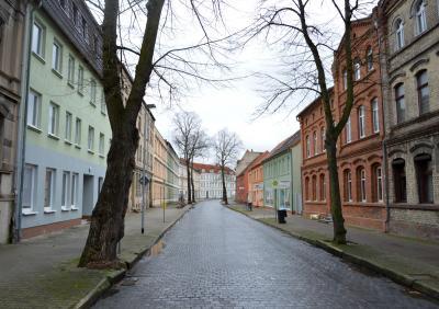 Die Karl-Marx-Straße wird im Abschnitt zwischen der Johannes-Runge-Straße und der Bahnstraße saniert I Foto: Martin Ferch