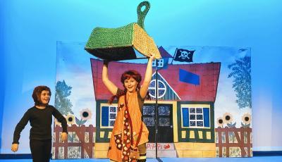 Foto zur Meldung: Stark wie Pippi – 11-jährige Schauspielschülerin aus Colbitz übernimmt neue Rolle