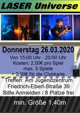 Vorschaubild zur Meldung: Lasertag in Kiel