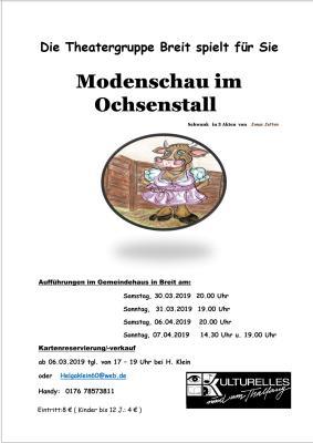 Vorschaubild zur Meldung: Theater in Breit