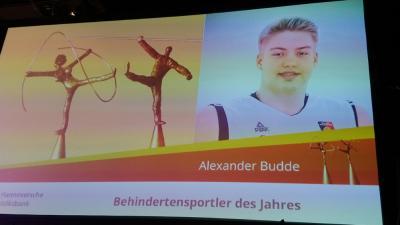 Foto zur Meldung: Gala zur Wahl des Behindertensportler/-in des Jahres 2019