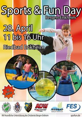 Vorschaubild zur Meldung: Der 10. Sports & Fun day in Bergen Enkheim