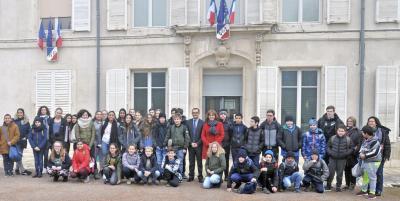 Vorschaubild zur Meldung: Schüler der Rs+ Am Reichswald besuchen die Partnerstadt Maxéville