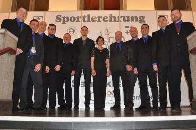 Vorschaubild zur Meldung: Geiseltaler Wölfe Meister der 2. Bundesliga Nord-Ost