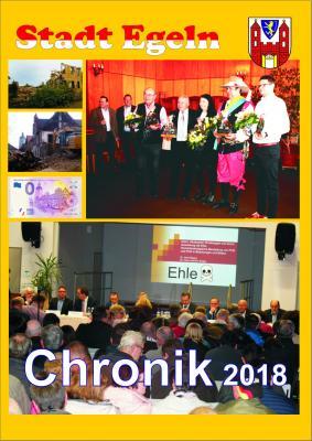 Vorschaubild zur Meldung: Chronik 2018 der Stadt Egeln im Museum erhältlich