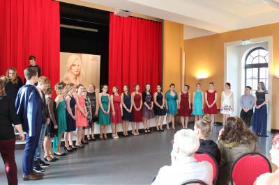 Foto zur Meldung: Jugendweihe-Messe am 23.2.2019 im Refektorium in Doberlug erlebte wieder großen Zuspruch