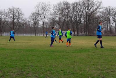 D-Jugend mit 3:1 Auswärtssieg in Calbe.