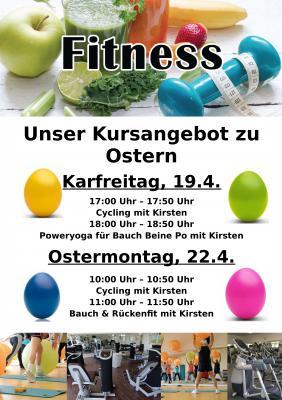 Foto zur Meldung: Fitnesskurse zu Ostern