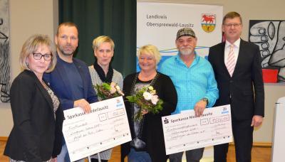 Foto zur Meldung: Inklusionspreis 2019: Landkreis belohnt zwei Calauer Initiativen