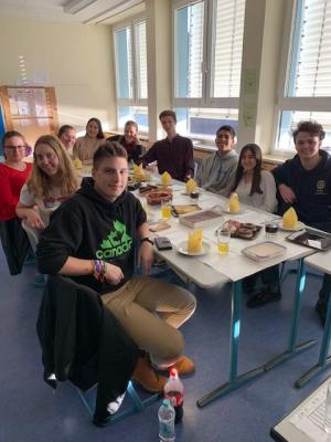 Multicultural food afternoon des Conversation Clubs