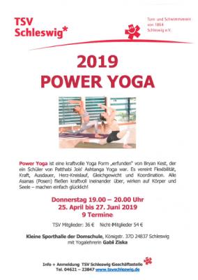 Vorschaubild zur Meldung: Power-Yoga