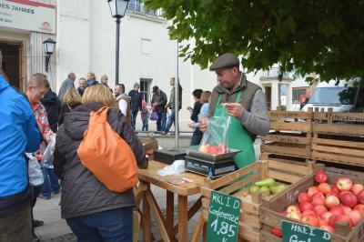 Der Apfelmarkt am 6. Oktober gehört zu den insgesamt vier Veranstaltungen 2019 mit verkaufsoffenem Sonntag I Foto: Stadt Wittenberge