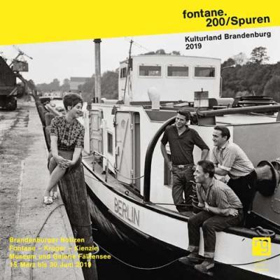 Schiffer im Hafen von Brandenburg an der Havel, 1963 (Foto: Krüger)