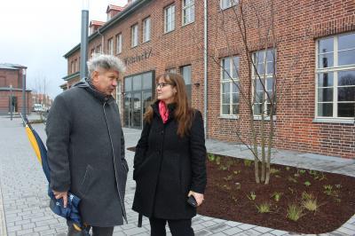 Vorschaubild zur Meldung: Staatssekretärin besucht Wittstock/Dosse